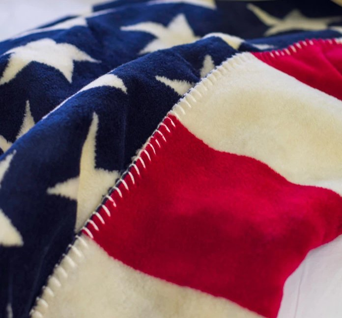 American Pride Microplush Spectator Throws/Blankets