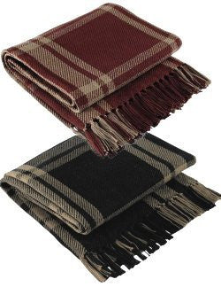Ringside Favorite Plaid Throws