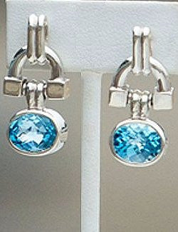 Topaz Bit Earrings