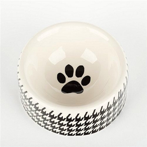 Houndstooth Ceramic Pet Kitchen Collection