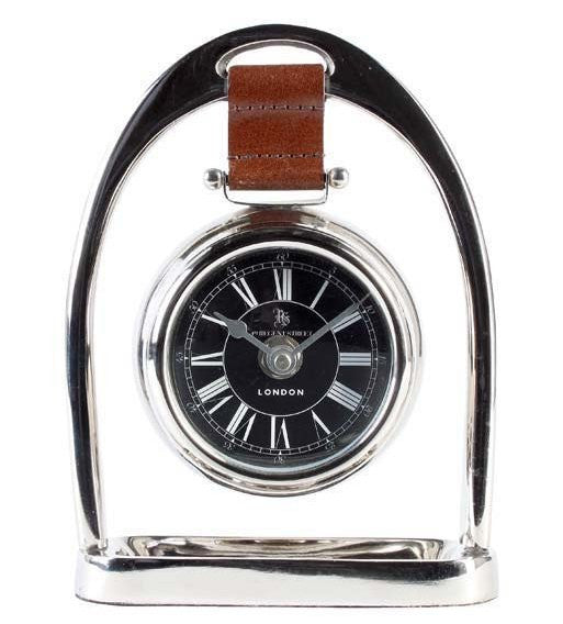Suspended Stirrup Desk Clock