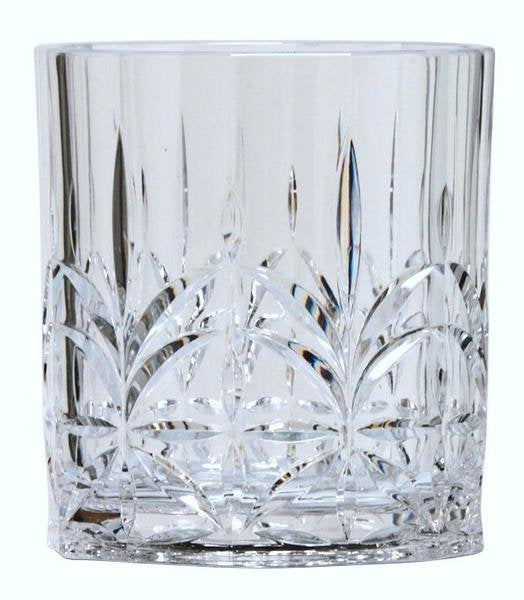 Majesty Crystal Cut Acrylic Glasses