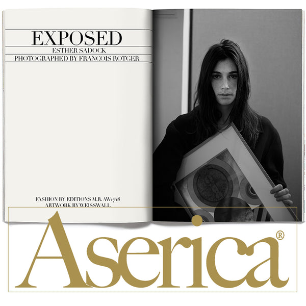 WEISSWALL & Editions MR in ASERICA Magazine