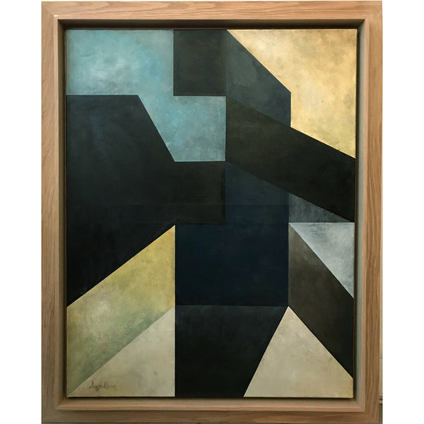 Oil on Canvas by AAGE ALSEN, circa 1950