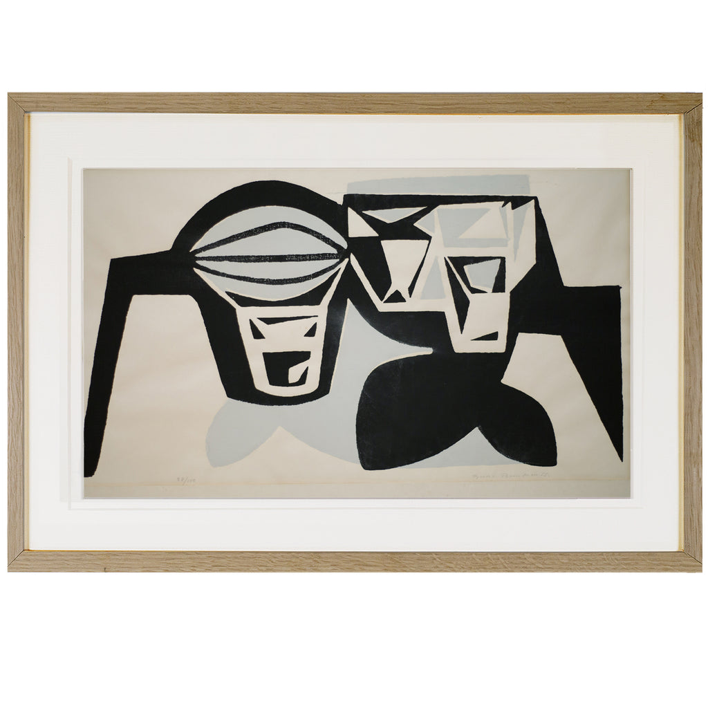 Lithograph on Paper 89/100 by BERTIL BERNTSSON, 1955