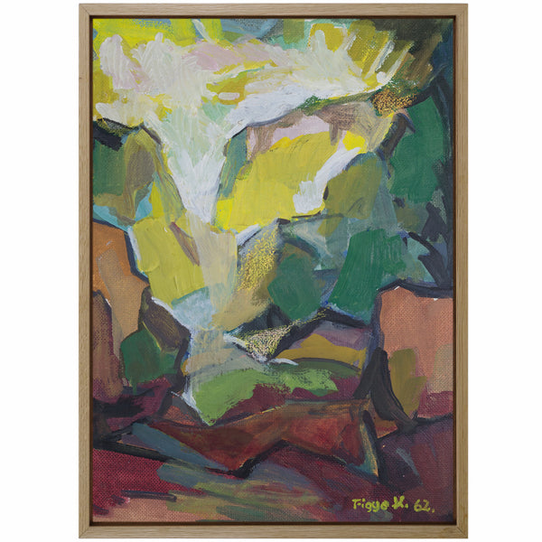 Oil on Wood Panel by FIGGE HOLMGREN, 1962