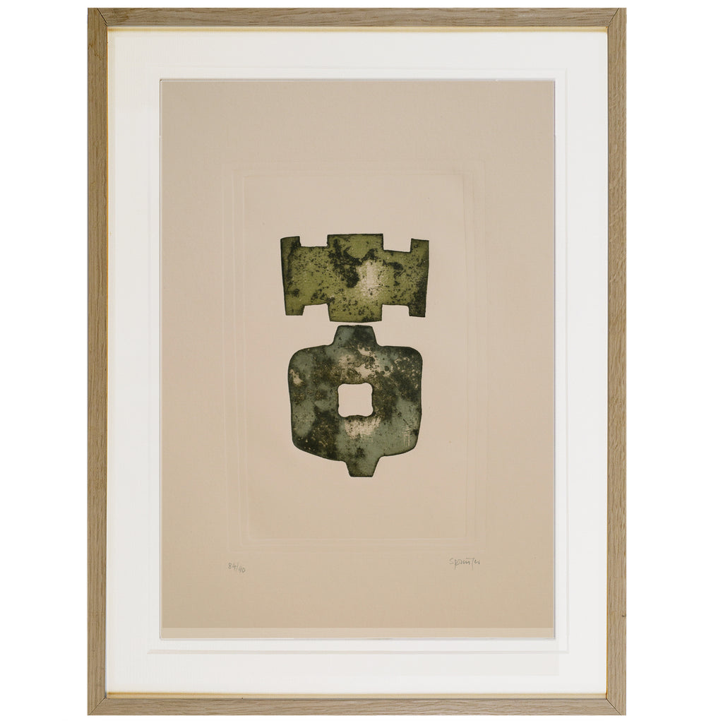 Lithograph on Paper by FERDINAND SPRINGER, 1970