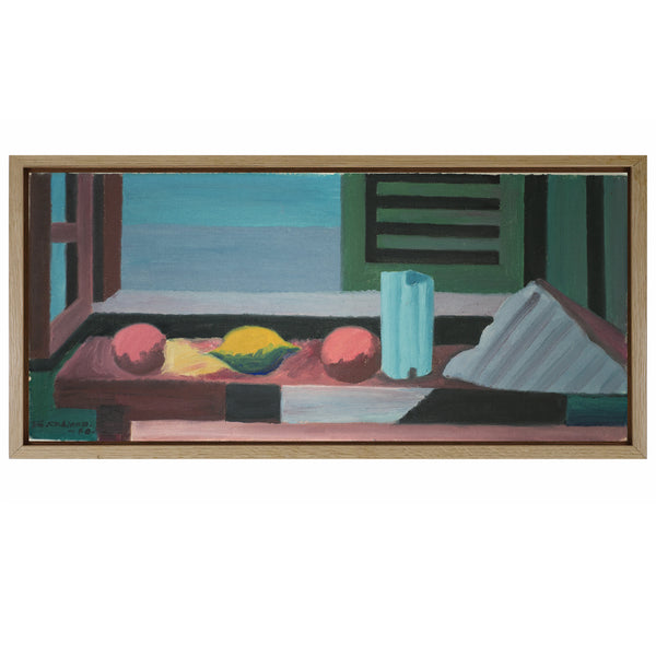 Oil on WoodPanel by SVEN ALFONS, 1960