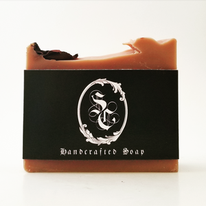 Shea butter and rose clay mineral soap all natural and zero waste