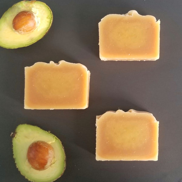 Raw Avocado & Lemongrass Soap