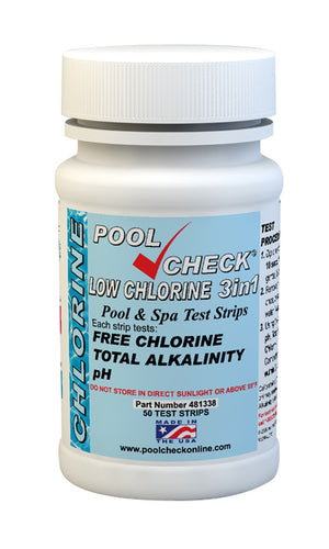 Pool Check Low Chlorine 3in1 481338