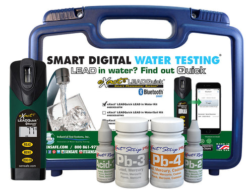 eXact LEADQuick w/ Bluetooth Water Test Kit 486900-BT-W