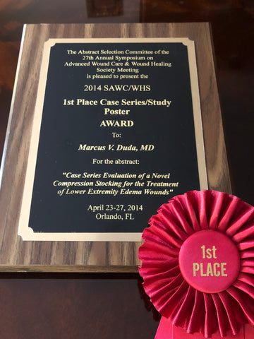 sawc whs award for edema wound care