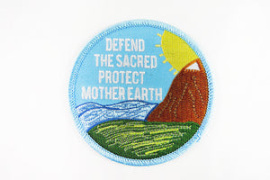 Defend The Sacred Protect Mother Earth Patch