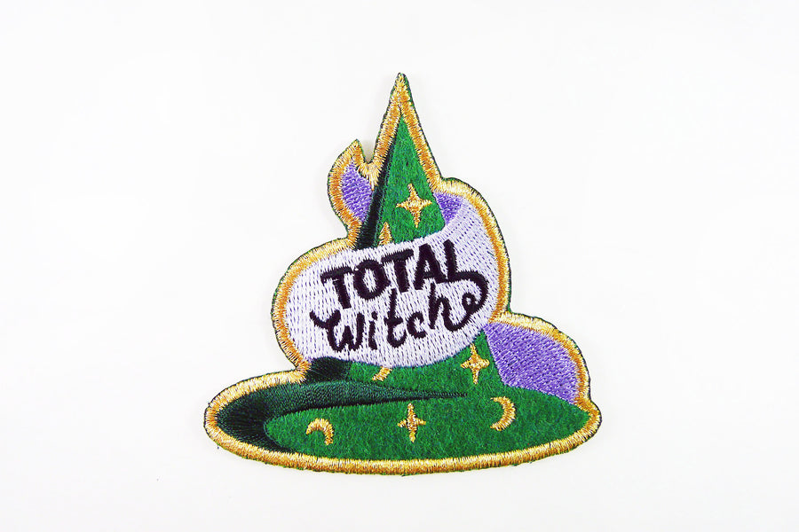 Kodiak Milly Total Witch Iron On Patch