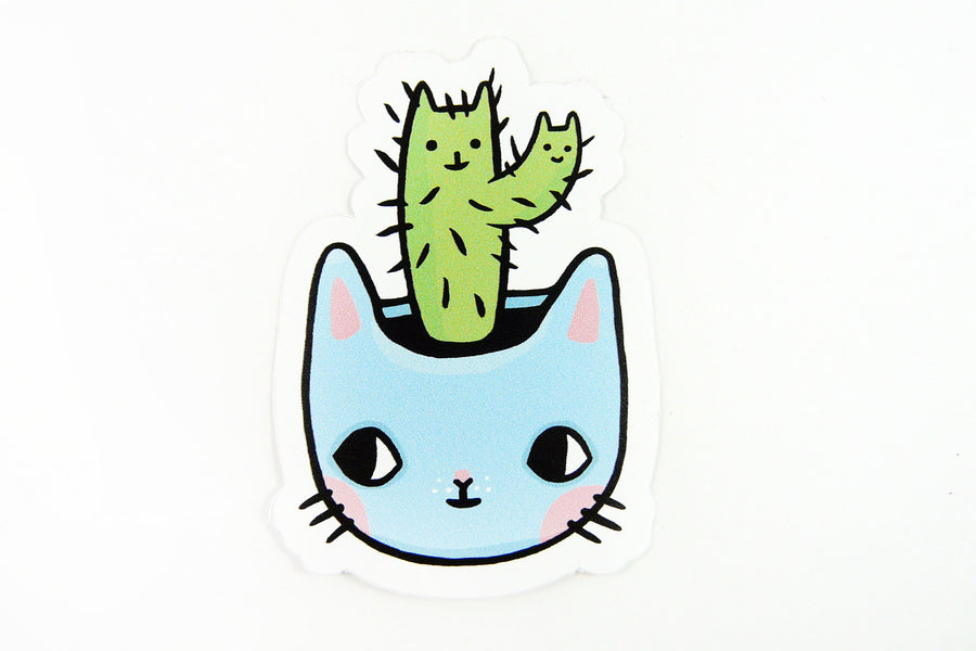 Pony People Catcus Vinyl Stickers