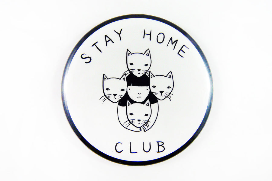 Stay Home Club Button