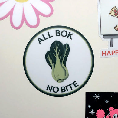 All Bok No Bite Sticker