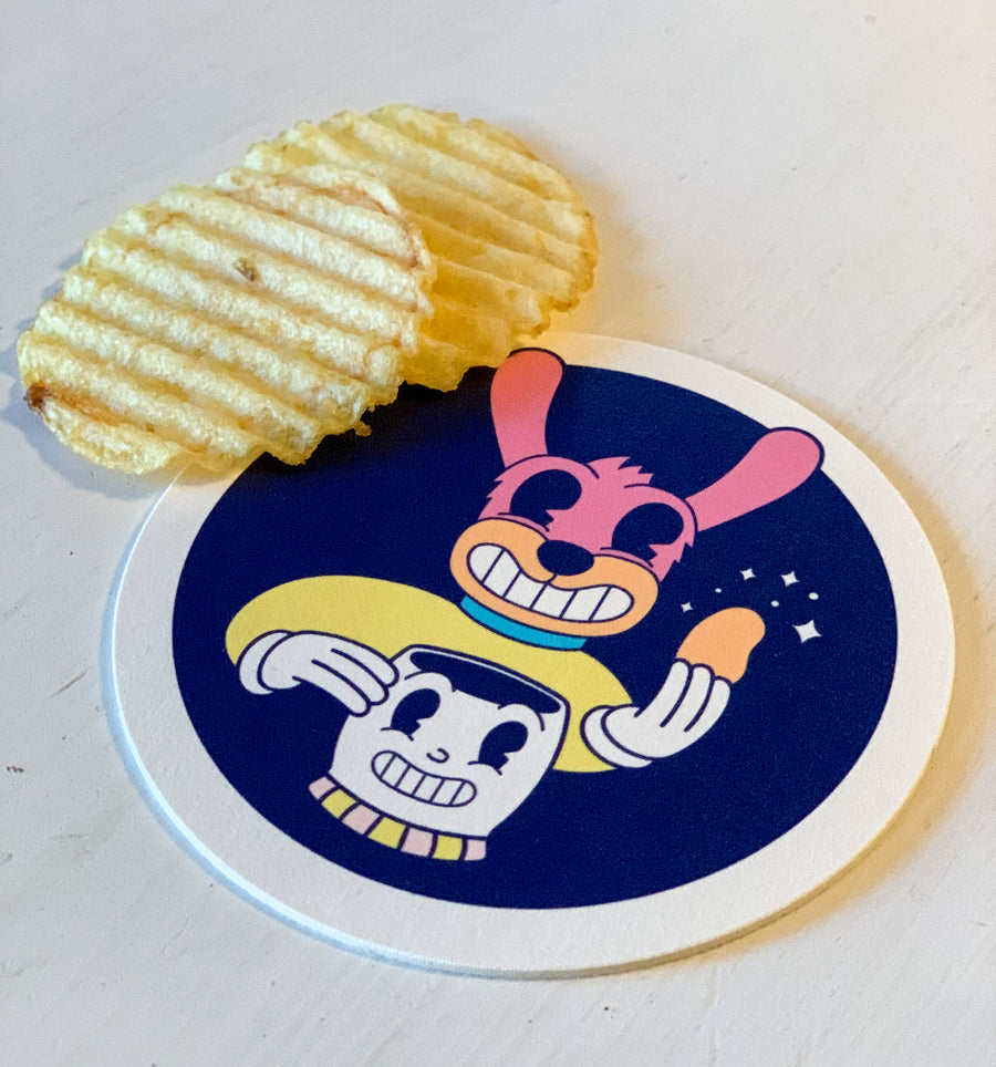 Cosmic Snacks Coaster