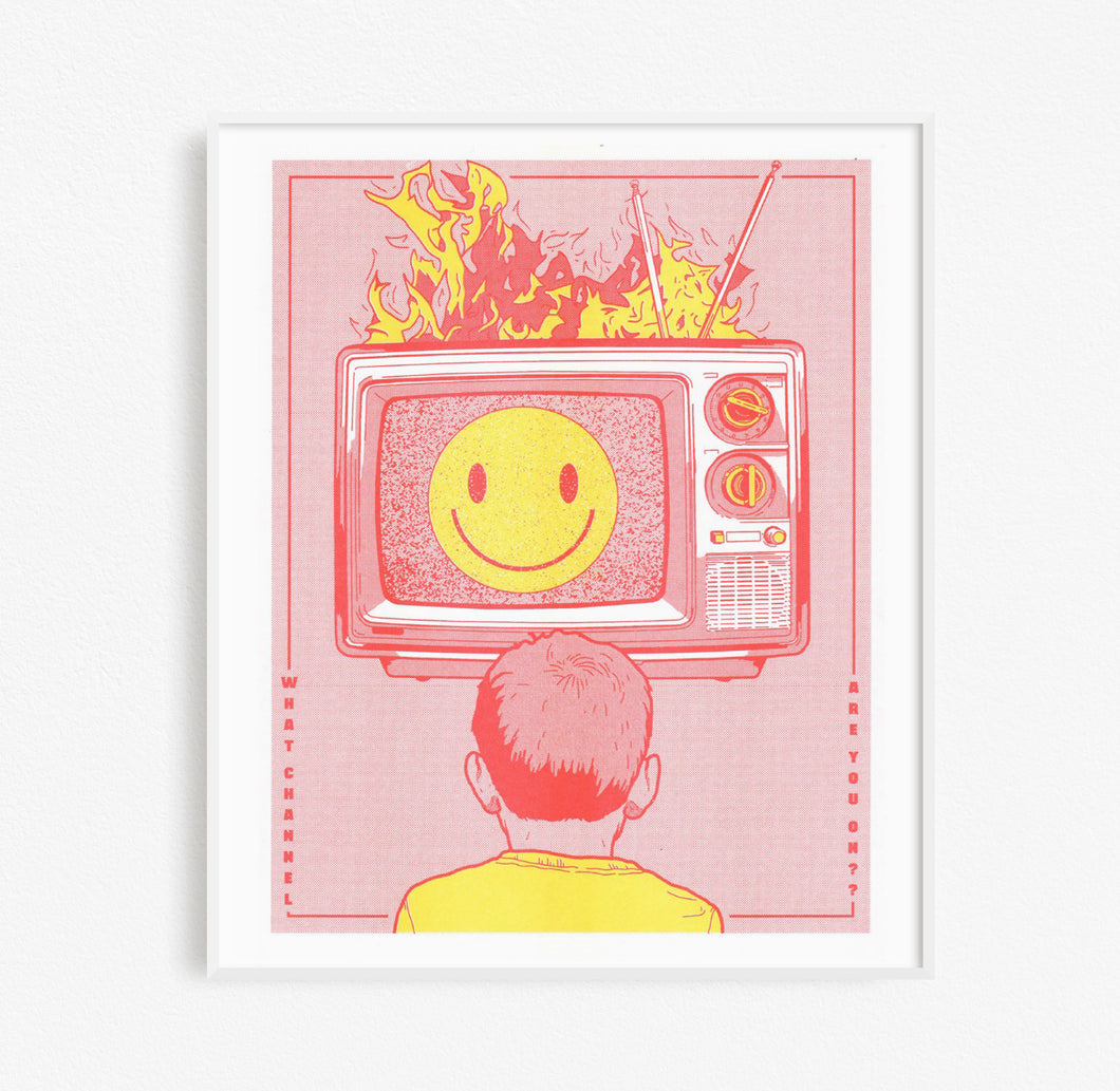 Untitled Risograph Print