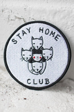 Stay Home Club Patch