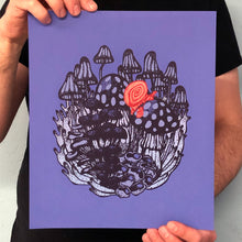 Load image into Gallery viewer, Snail Mail Screen Print