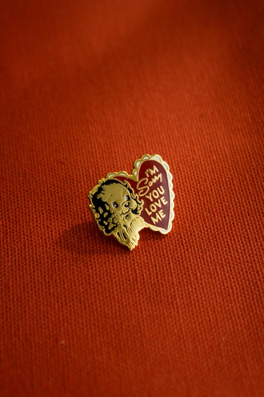 I'm Sorry You Love Me Pin