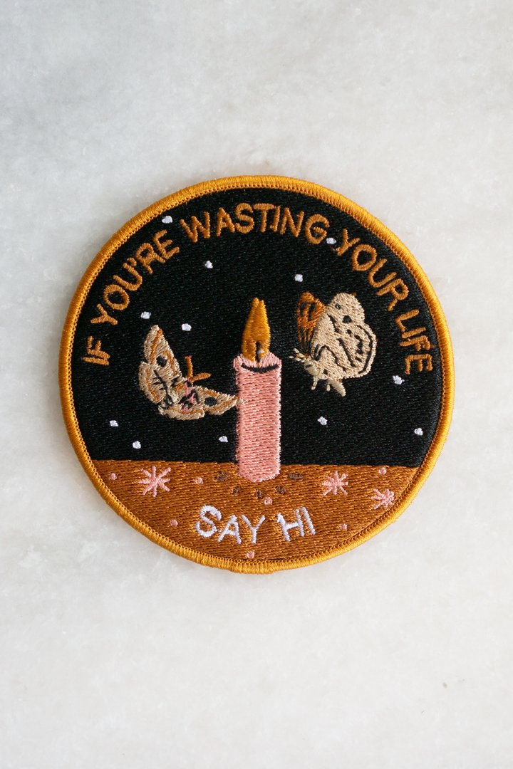 Wasting Your Life Patch