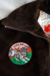 Feed Me to the Wolves Patch