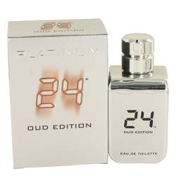 24 Platinum Oud Edition Eau De Toilette Concentree Spray (Unisex) By ScentStory