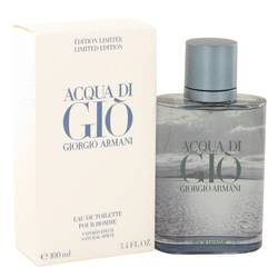 Acqua Di Gio Blue Edition Eau De Toilette Spray (Limited Edition) By Giorgio Armani
