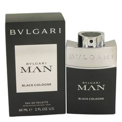 Bvlgari Man Black Cologne Eau De Toilette Spray By Bvlgari