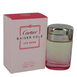 Baiser Vole Lys Rose Eau De Toilette Spray By Cartier
