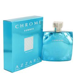 Chrome Summer Eau De Toilette Spray (Limited edition 2012) By Azzaro