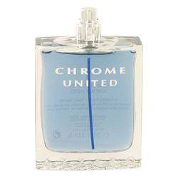 Chrome United Eau De Toilette Spray (Tester) By Azzaro