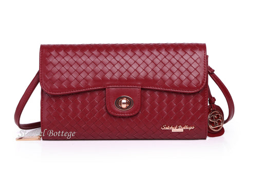 Satchel Bottega®Handmade Soft Lambskin Leather Bag