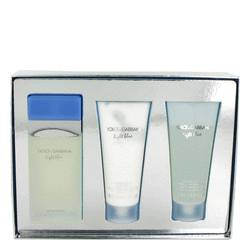 Light Blue Gift Set By Dolce & Gabbana