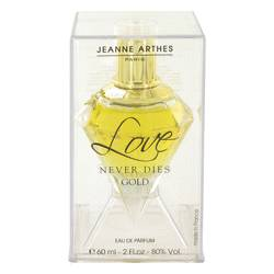 Love Never Dies Gold Eau De Parfum Spray By Jeanne Arthes