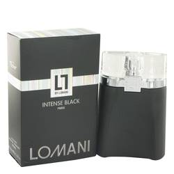 Lomani Intense Black Eau De Toilette Spray By Lomani