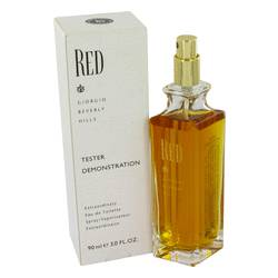 Red Eau De Toilette Spray (Tester) By Giorgio Beverly Hills