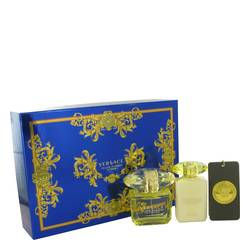 Versace Yellow Diamond Intense Gift Set By Versace