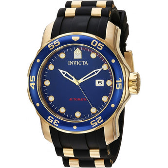 Invicta Men's Pro Diver Quartz Stainless Steel and Polyurethane Casual Watch