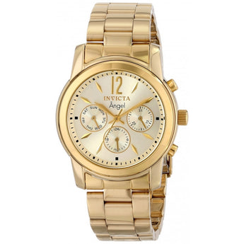 Invicta Invicta Women's 12551 Angel Analog Display Swiss Quartz Gold Watch