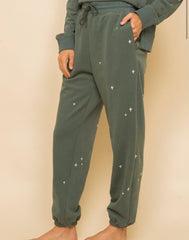 Leslie Sweatsuit in Vintage Green