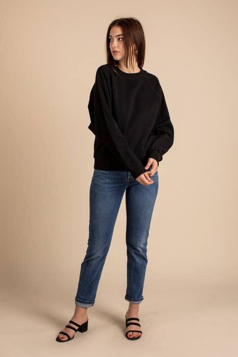 Harlee Sweatshirt in Black