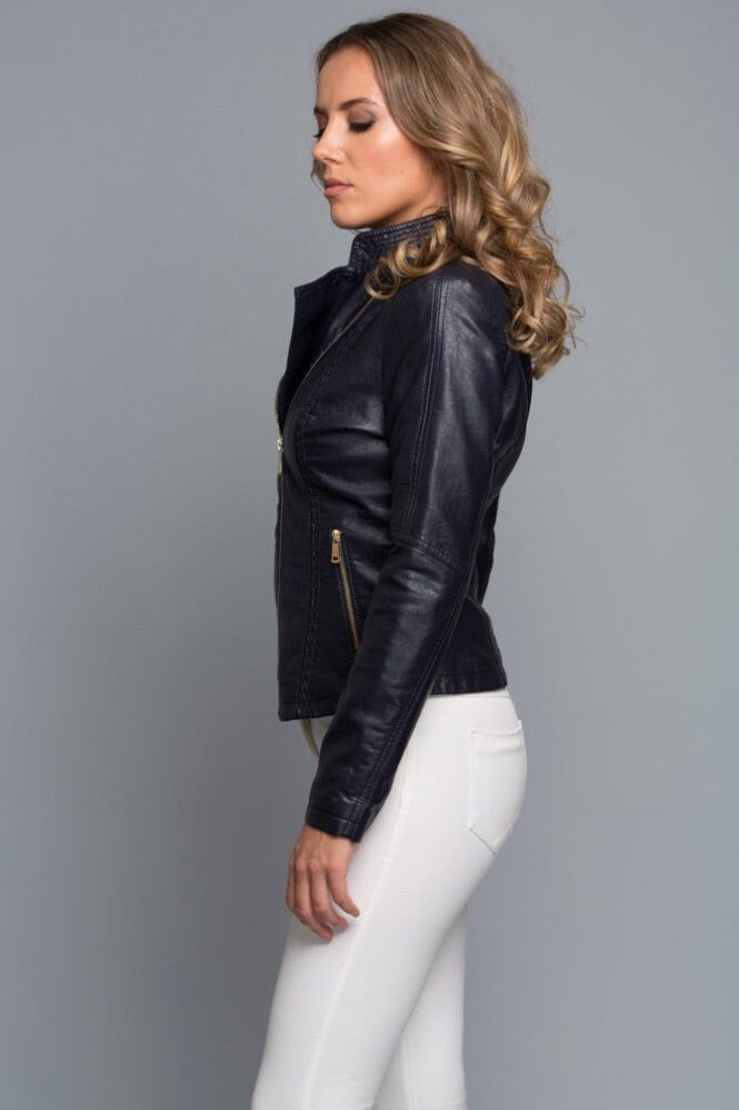 Along The Lines Jacket in Black