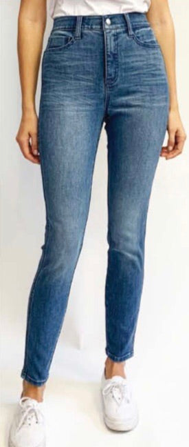 Mid Rise Atlantic Wash Denim