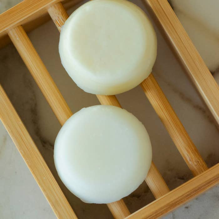 Moso Bamboo Shampoo & Conditioner Bar Shelf