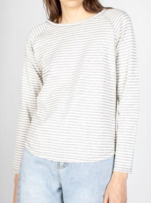 Sienna Long-sleeved Striped Tee