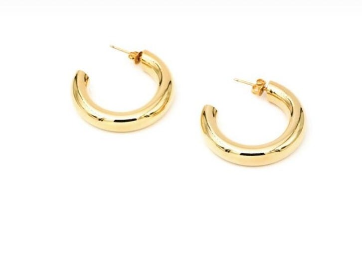 Gold Dipped Hoops
